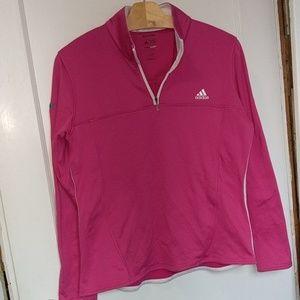 Adidas clima-warm Paula Creamer quarter zip